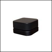 Barattolo di vetro del cubo premium da 5ml 9ml con il coperchio resistente ai bambini bottiglia quadrato di concentrato di concentrati di concentrato di olio spessa contenitore da tavolino