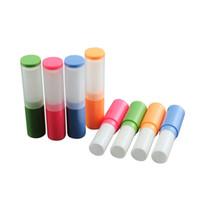 4g di plastica fatta in casa balsamo per labbra bottiglia vuota fatta a mano bottiglie di rossetto tubo trasporto veloce F2254