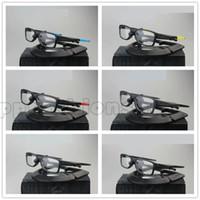 2019 여름 인기 선글라스 6 색 스포츠 안경 남성용 디자이너 선글라스 TR90 사각 프레임 Flat Sight Glasses