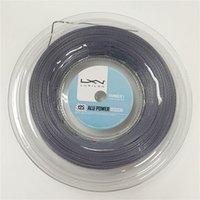Luxilon Big Banger Alu Power Raue Tennisschläger String 200m graue Farbe gleiche Qualität wie original