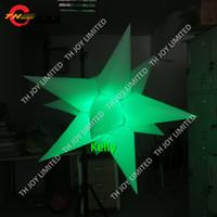 LED 조명 16 색 매달려 장식에 대 한 풍선 스타 풍선을 변경하는 싼 풍선 공기 풍선 나이트 클럽 또는 무대 장식