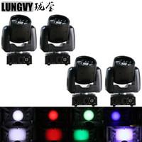 4pcs / lot Hallo-Qualitätsminiwasch 7x12W RGBW 4IN1 Viererkabel führte bewegliches Hauptzoom-Licht Berufs-DJ-Stadiums-Licht