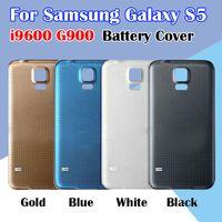SAMSUNG S5 Batarya kapağı için geri Konut İçin Samsung Galaxy S5 Arka Kapak Kılıf Pil Arka Kapı i9600 G900 Değiştirilmesi