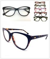 الرجال إطارات أعلى جودة العلامة التجارية الجديدة تصميم بصري أزياء المرأة خمر خلات نظارات النظارات بلانك نظارات إطار نظارات نظارات H0033