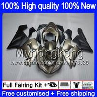 Kropp för Kawasaki ZX-600 ZX 6R 600CC 6 R ZX636 2005 2006 Försäljning Champagne 210MY.13 ZX-636 600 CC ZX6R 05 06 ZX600 ZX 636 ZX-6R 05 06 FAIRING