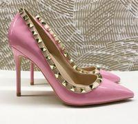 النساء أحذية عالية الكعب الجلود مسمار الصنادل t- حزام زائد الحجم eu34 إلى 45 مضخات وأشار أصابع القدم المسامير السيدات حزب الأحمر قيعان الارتفاع 8 سنتيمتر 10 سنتيمتر 12 سنتيمتر 40 نمط مع شعار