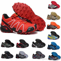 salomon speedcross 3 Original Speed ​​cross 4 Hombres Zapatillas de deporte al aire libre Zapatillas Zapatillas Speed ​​Crosspeed 4 IV Zapatillas de deporte para correr 40-46 EUR