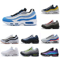 Desconto colorido Laser Fuchsia Almofada Running Shoes Homens Mulheres Triplo Branco Amarelo Preto Vermelho Ao Ar Livre Sapatilhas Casual Sports Sneakers 36-45