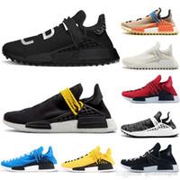 369009d31f1c9 New Arrival. 2019 Runner Cheap Luxury Human Race NMD Runing Shoes Men Women  Solar Pack Black Yellow PW HU HOLI Pharrell Williams ...