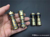 14мм 18мм женского 4в1 Domeless Titanium Titanium Nail GR2 Гвозди для стекла нефтяной вышки Бонга трубы