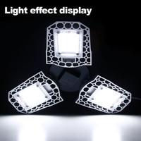 المرآب ضوء 100W 80W 60W LED مصباح E27 LED ضوء LED لمبة الاستشعار تشوه مصباح المرآب الضوء 2PC / LOT، 5PC / LOT