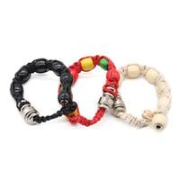 creativa pulsera de metal pipa de fumar 3 colores perlas portátiles correa herramientas de tubos de humo estilo pulsera Tabacco
