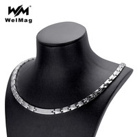 wholesale Trendy Hematite Magnetic Necklace for Women Dropsh...