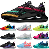 Nike air max 720 720s Scarpe da corsa economiche per uomo donna Be True Pride triple nero tramonto Volt Northern Lights mens sneakers sportive da uomo