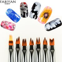 7pcs set Double Head French Nail Art Brush Dotting Pen Beads...