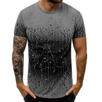 T Shirt Men New Summer Unique Printed Casual Short Fashion Style Round Neck T-shirt Summer Cool Tops Camisetas Hombre