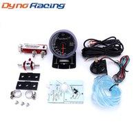 Dynoracing 60MM гоночный автомобиль Turbo Boost калибровочной 2BAR / 200KPA + Регулируемое Turbo Boost Controller Kit 1-30 PSI IN-КАБИНА Gauge