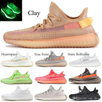 Kanye West New Cloud Weiß Citrin GID Static Reflective Laufschuhe Herren Damen Antlia Lundmark Synth Clay Cream Ultra Designer-Turnschuhe