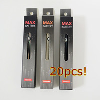 Amigo Max Vape Pen Battery 510 Battery Batteries - سخن 380mAh 2.7v-3.6v أسفل تهمة لشاحنة Vape خراطيش النفط رذاذ سميكة