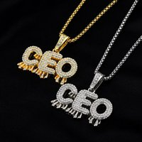 Men Women Stainless Steel Chain CEO Letters Fashion Jewelry ...