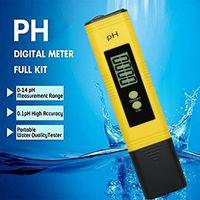 الرقمية درجة الحموضة الرقمية اختبار LCD الجيب المائية حوض السمك اختبار المياه الدقة 0.01 حوض السمك المياه النبيذ الماء المعايرة التلقائي