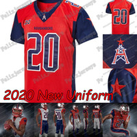 2020 Houston Roughnecks XFL fútbol jerseys Phillip Walker Connor Cook Kyle Hicks Andre Williams Nick Holley Akrum Wadley Márquez Williams
