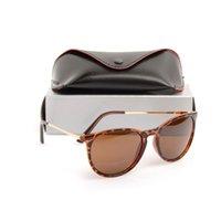 2020 Yeni 4171 güneş gözlüğü Kahverengi güneş Mans gözlükleri Womans güneş gözlüğü Güneş Unisex vakalarla güneş gözlüğü gözlükler