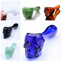 Cheap Sale Colorful Smoking Pipe Oil Burner Pipes Short Hand...