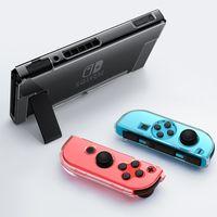Для Nintendo Переключатель Защитный чехол Прозрачный Clear PC Shell Обложка чехол для чорный выключателя главной машины и ручки рычага с розничной коробкой