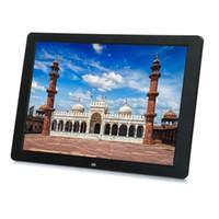 الجديدة 12 بوصة إطار الصورة الرقمية HD 1280x800 وLED ظهر ضوء الإلكترونية ألبوم صورة فيديو كليب هدية جيدة
