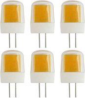 G4 LED G8 лампы Диммируемый 110V3W Более короткий 20W 30W T3 T4 Галогенные Эквивалент JCD Bi-Pin Light Lamp 3000K теплый белый для дома Пейзаж