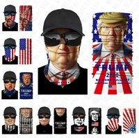 패션 얼굴 미국 국기 트럼프 스포츠 자전거 스카프 남여 입-머플 헤드 밴드 베일 스카프 야외 방진 마스크 부티크 D8501 마스크