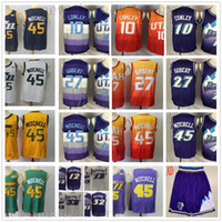 Cheap Wholesale Stitched Jersey Top Quality Mens Purple Whit...
