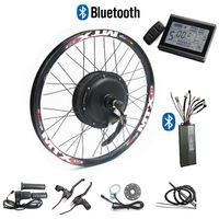CSC 48V 1000W Elektrikli Bisiklet Dönüşüm Rejenerasyon LCD ekranlı Disk fren Bike için kit ve bluetooth 24 '' - 29 ''