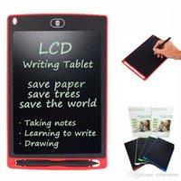8,5-Zoll-LCD Writing Tablet Touchpad Büro Elektronischer Vorstand Magnetische Kühlschrank Ultra Bright Upgraded Stylus Kinder Weihnachten Geschenke neu