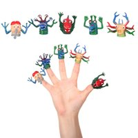 Small Size 5pcs lot Finger Action Figure Novelty Monster Fin...