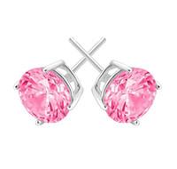 Mode Quatre Griffes Cristal Zircon Stud 925 Sterling Argent Diamant Goutte Tempérament Boucle D'oreille Pour Les Femmes Bijoux Amitié Cadeau