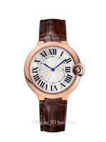 الرجال الفولاذ المقاوم للصدأ التلقائي ساعة اليد الميكانيكية الأزرق بالون 42MM الساعات الأزياء التوصيل المجاني