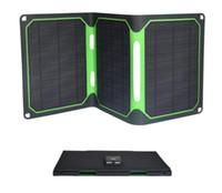 Portátil panel solar 18W-carga rápida de carga fuente de energía móvil Bao ETFE laminado cargador plegable solar