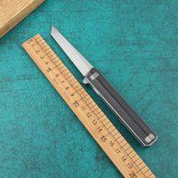ДЕВЯТЬ ШИП мал Интендант D2 углерода лезвия волокна ручка Флиппер Складной нож Открытый кемпинга охоты карманные ножи инструменты EDC