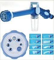 Pistola a spruzzo 8 in 1 Pistola ad acqua Cannone multifunzionale Cannone ad acqua Spray Giardino irrigazione Apparecchiature Lavaggio auto