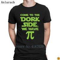 Come To The Dork Side Wir haben Pie T-Shirt Fit Print Webseiten-T-Shirt für Männer HipHop Top-Neuheit-Sommer-Art-T-Shirt