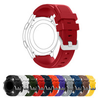 22mm Sports Silicone Strap for Samsung Gear S3 Frontier Band...