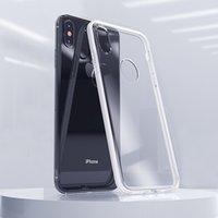 Iphone 5G 6G 7G 8G Plus X XR XS MAX ile Delik Anti-Scratch Darbeye Koruma 2MM Kalınlığı Zırh Yumuşak TPU Telefon Kılıf Kapak