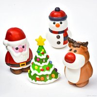 Christmas Squishy Toy Slow Rising Jumbo Stress Relieve Dolls...