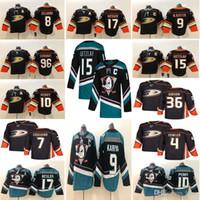 Anaheim Patos 15 Ryan Getzlaf Jersey 9 Paul Kariya 17 Ryan Kesler 4 Cam Fowler Hóquei Jerseys