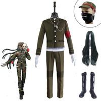 Danganronpa V3 Killing Harmony Korekiyo Shanguals Cosplay Costume Vestiti Accessori Parrucche Alta qualità
