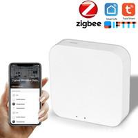 ZigBee 3.0 Hub WIFI Kablosuz Uzaktan Kumanda Akıllı Ev Güvenlik Sistemi Köprüsü Mini Taşınabilir Elektronik Kapı Kilidi Aksesuar Adaptörü