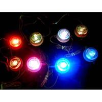 VOITURE 8PCS LED multicolore Undercar Lampe Glow Intérieur Underbody Atmosphère Auto Décor Lumières Transformer les couleurs au hasard