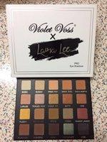 Menekşe Voss En Yeni 20 renk Üst Kalite Ücretsiz gönderim Göz Farı Laura Lee Pro Göz Farı Paleti REFOR x